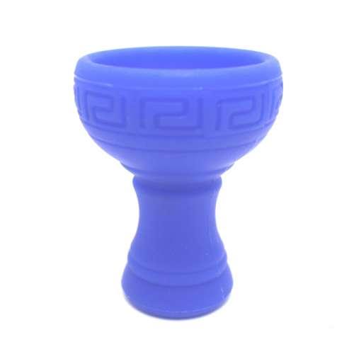 Caesar Silikon-Tabakkopf Orient- Blue