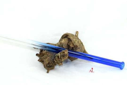 Glasmundstück ca. 40x´cm Lang Farbe Blau