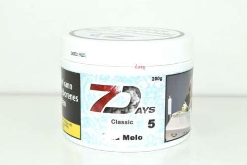 Seven Days Tabak 200g  Co. Melon