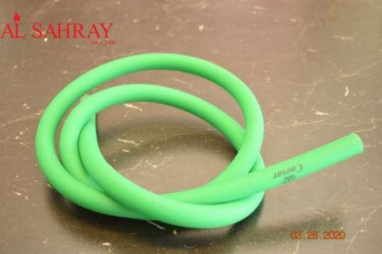 Silikonschlauch matt Grün