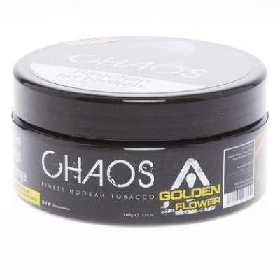 Chaos Tabak 200g 'Golden Flower'   Zitrone-Rose-Eis