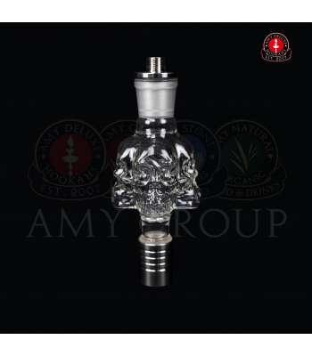 Amy Deluxe Molassefänger M003 Skull Glss inkl Adapter
