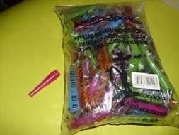 Hygienemundstück - innen - farbig - 5,5 cm - 100er Beutel
