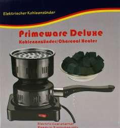 Primeware Deluxe Kohleanzünder