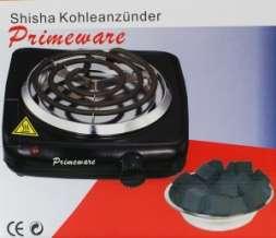 Primeware Kohleanzünder 1000 W inkl. Schutzgitter