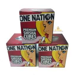 One Nation Shisha Natur Kohle