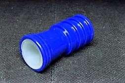 Schlauchadapter Caeser Blau glänzend