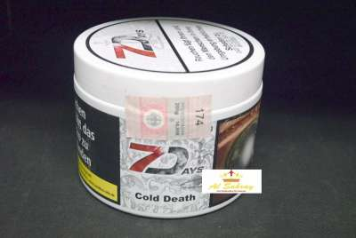 Seven Days Tabak Cold Death 200g