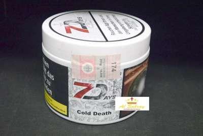 Seven Days Tabak Cold Death 200g