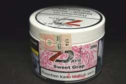 Seven Dayas Tabak Sweet Grape 200g