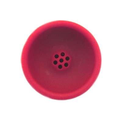 Caesar Silikon-Tabakkopf Orient- Red