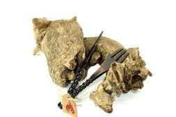Tabakgabel inkl. Lochstecher Metall