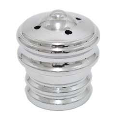 Ventilverschlusskappe - Silver / Chrome