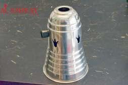 Windschutz Aluminium (klein - 15 cm)