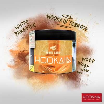 Hookain Shisha Tabak - White Caek 200g