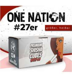 One Nation Cubes Naturkohle 27er 1kg